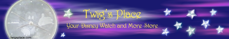 Twigs Place - Disney Watches and more